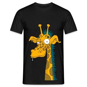 T-shirt homme girafe punk - T-shirt Homme
