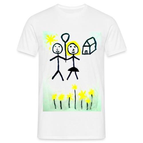 L'amore tra l'uomo e la donna (con logo) - Maglietta da uomo