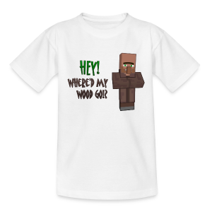 Where'd my wood go!?  Kids shirt - Kids' T-Shirt