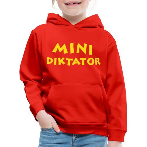Diktator mit Flockdruck - Kinder Premium Hoodie