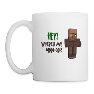 Where'd my wood go!?  Mug - Mug