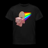 Shirts ~ Kids' T-Shirt ~ Nyan Pig - Kids T-Shirt