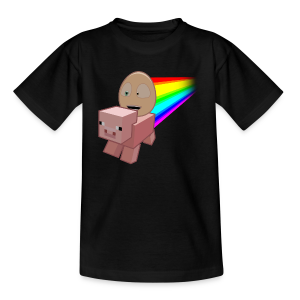 Nyan Pig - Teens T-Shirt - Teenage T-shirt