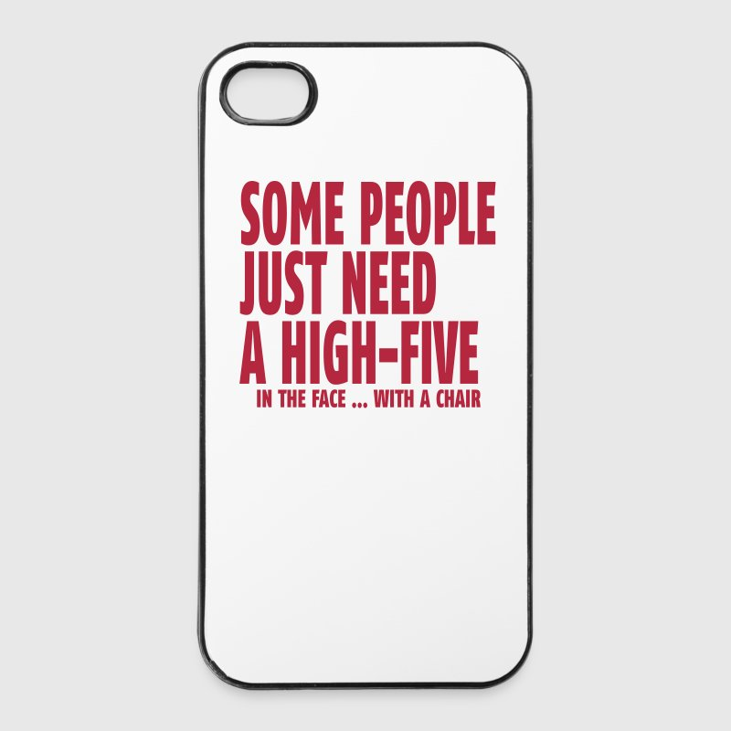 Sad Quotes About Love: Some People Need A High Five In The Face I IPhone Case