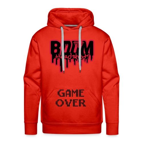 Sweat de geek rouge - Sweat-shirt à capuche Premium pour hommes