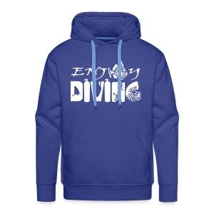 Enjoy Diving-Sweat Hom-Flocage - Sweat-shirt à capuche Premium pour hommes