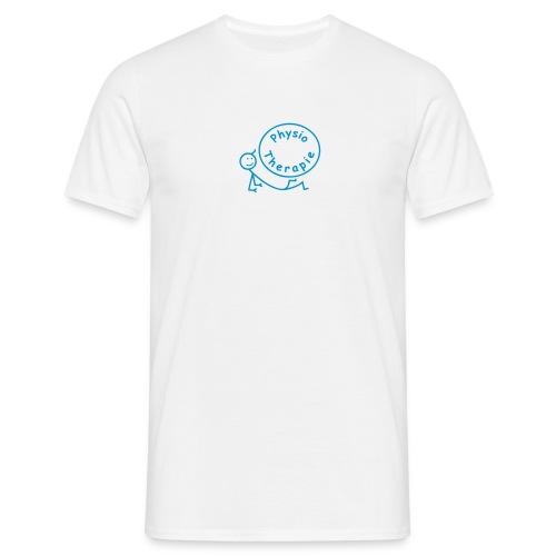 Physiotherapie T-Shirt Männchen liegend - Männer T-Shirt