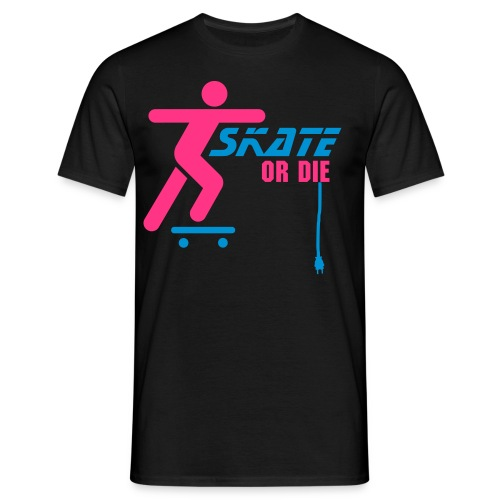 skate or die - T-skjorte for menn