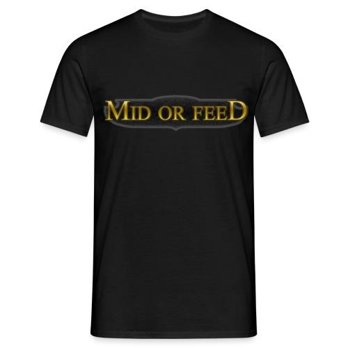 Mid or feed - Koszulka męska