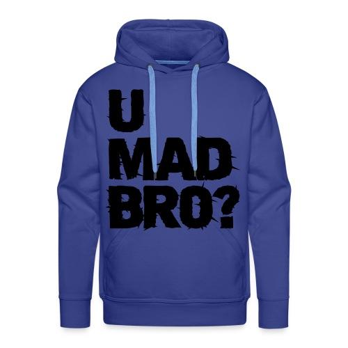 Umad Bro - Hoddie - Premium hettegenser for menn