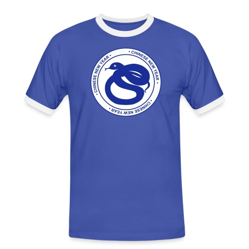 CHINESE NEW YEAR OF SNAKE - T-shirt contrasté Homme