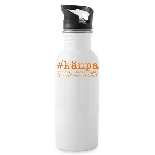 Vattenflaska träning #kämpa - Vattenflaska