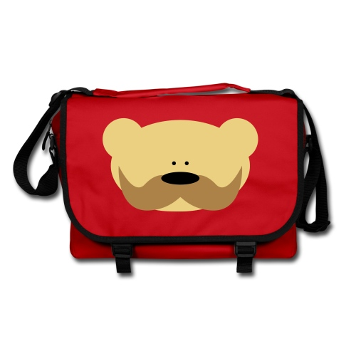 Shoulder Bag - bag,mis,miś,moustache,ramię,swag,swagg,teddy bear,torba,wąsy