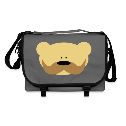 Shoulder Bag - wąsy,torba,teddy bear,swagg,swag,ramię,moustache,miś,mis,bag