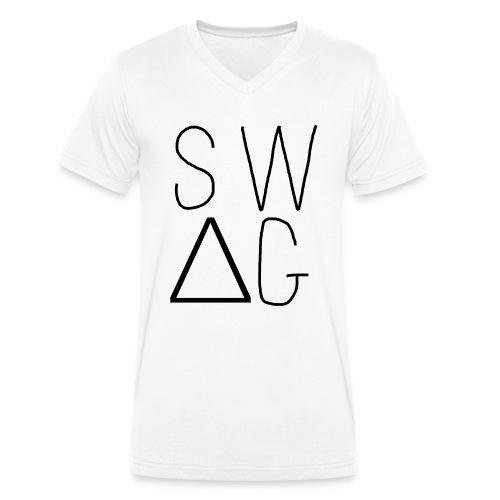 ILLU SWAG V-SHIRT - Mannen bio T-shirt met V-hals van Stanley & Stella