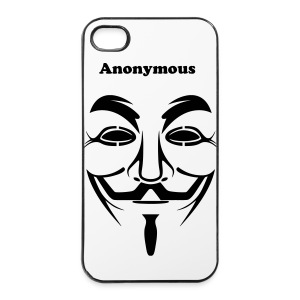 Coque Iphone 4/4s Anonymous - Coque rigide iPhone 4/4s
