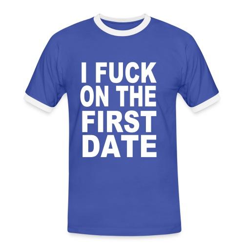 T-shirt cool  - T-shirt contrasté Homme