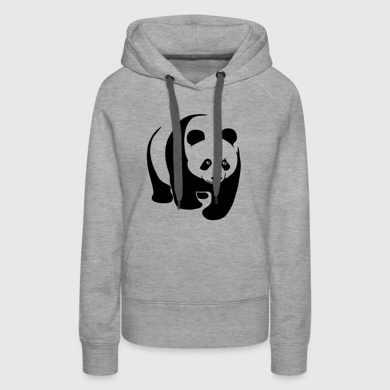 sweat shirt capuche panda g ant ours en peluche teddy spreadshirt. Black Bedroom Furniture Sets. Home Design Ideas
