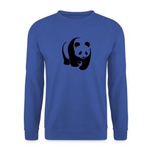 tier t-shirt panda teddy bär bärchen süß niedlich gesicht - Männer Pullover