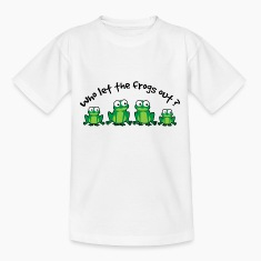Who Let The Frogs Out? Shirts
