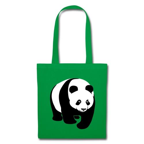 tier t-shirt panda teddy bär bärchen süß niedlich gesicht - Stoffbeutel