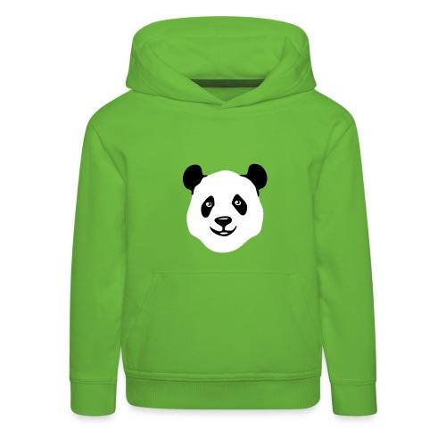 tier t-shirt panda teddy bär bärchen süß niedlich gesicht - Kinder Premium Hoodie