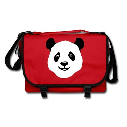 tier t-shirt panda teddy bär bärchen süß niedlich gesicht - Umhängetasche