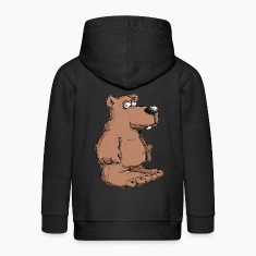 Funny brown bear Hoodies