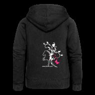 Pullover & Hoodies ~ Frauen Premium Kapuzenjacke ~ Damenjacke Butterfly 2F