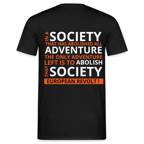 ♥ Europe - Männer T-Shirt