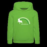Pullover & Hoodies ~ Kinder Premium Kapuzenpullover ~ Kindersweater Regenbogentölter