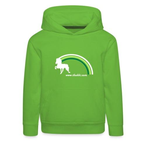 Kindersweater Regenbogentölter - Kinder Premium Hoodie
