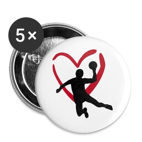 Handball!!  - Buttons klein 25 mm