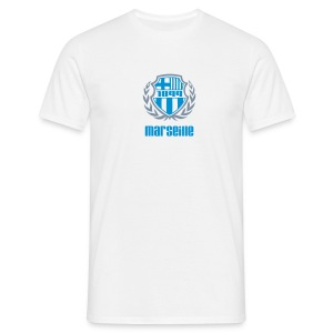 T-shirt Homme - Ballon,Foot,Marseille,OM,Provence,Supporter,Ultra