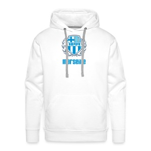 Sweat-shirt à capuche Premium pour hommes - Ballon,Foot,Marseille,OM,Provence,Supporter,Ultra