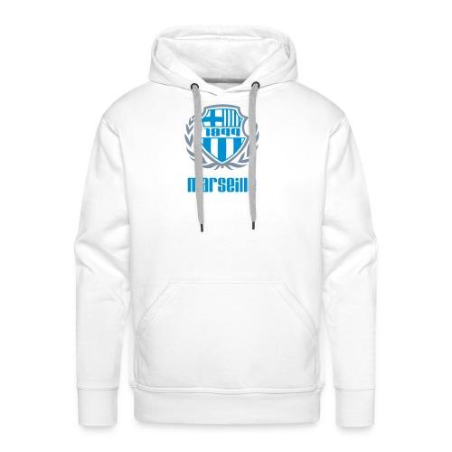 Sweat-shirt à capuche Premium pour hommes - Ultra,Supporter,Provence,OM,Marseille,Foot,Ballon
