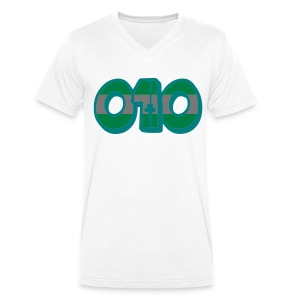 010 (MEN) - Mannen bio T-shirt met V-hals van Stanley & Stella