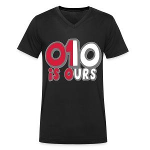010 IS OURS (MEN) - Mannen bio T-shirt met V-hals van Stanley & Stella