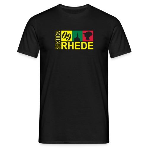 Sek. Rhede mit Rückenaufdruck! - Männer T-Shirt