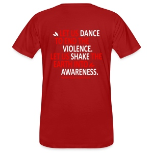 Rise into awareness - Männer Bio-T-Shirt