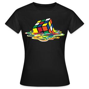 Melting Cube - Koszulka damska