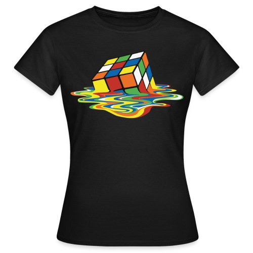 Melting Cube - Women's T-Shirt