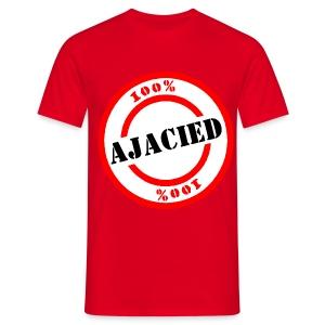 100% Ajacied Shirt - Mannen T-shirt