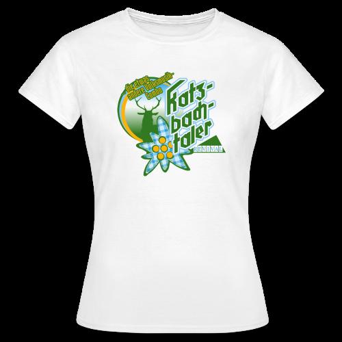 Katzbachtaler Frauen T-Shirt weiß - Frauen T-Shirt