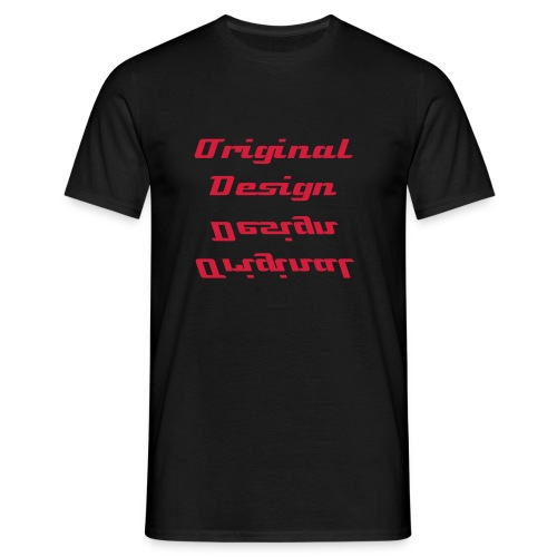 Original Design classic shirt - Mannen T-shirt