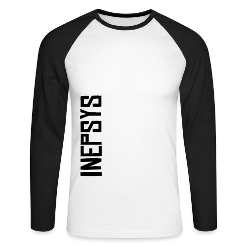 Manches longues, Inepsys vertical - T-shirt baseball manches longues Homme