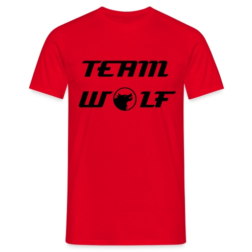 Red Team Wolf Tee - Men's T-Shirt