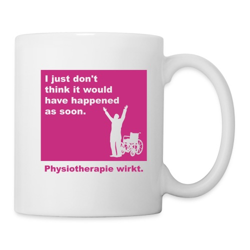 Physiotherapie wirkt! - Tasse
