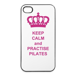 Keep Calm and do pilates - iPhone 4/4s Hard Case