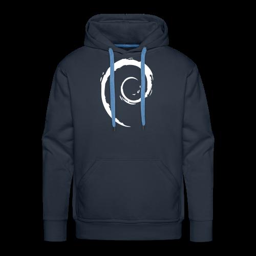 Debian Swirl - Männer Premium Hoodie